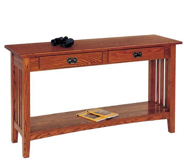 Mission Sofa Table by Keystone