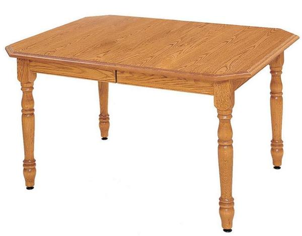 Countryside Self-Storing Leaf Dining Table by Keystone