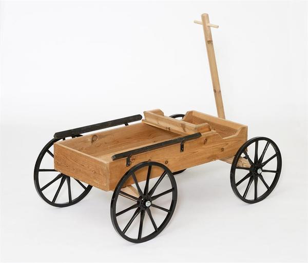 Amish Crafts Decorative Buckboard Wagon