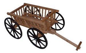 Amish Crafts Decorative Pumpkin Wagon