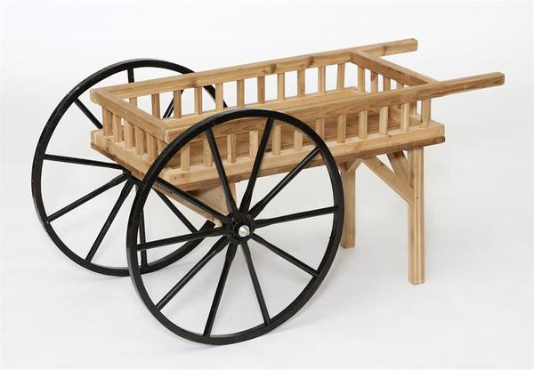 Amish Crafts Decorative Peddler's Cart Wagon