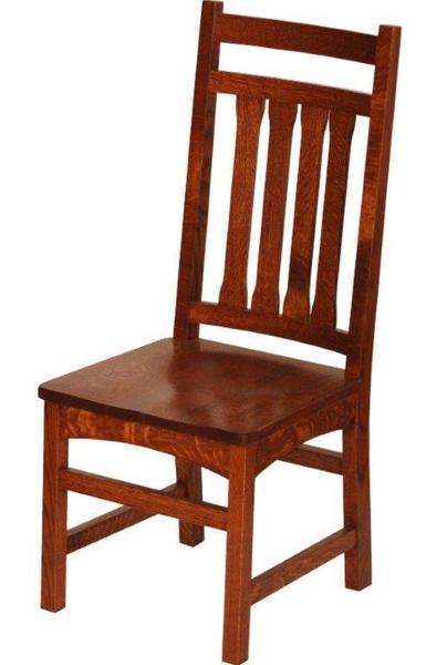 Amish Santa Cruz Mission Dining Room Chair