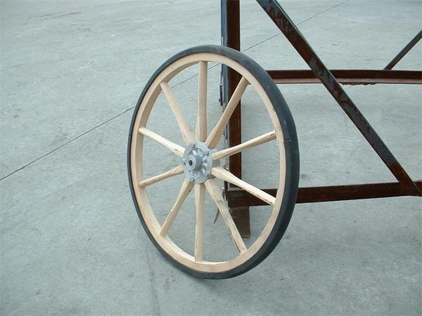 Amish Light Duty Buggy or Cart Wheel