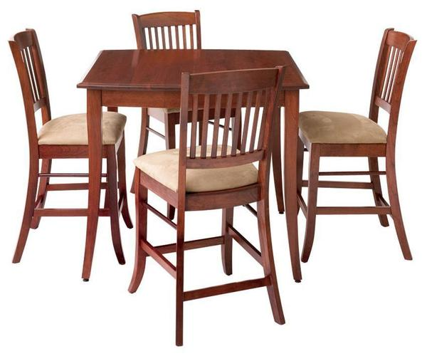 Manchester Self-Storing Gathering Pub Table by Keystone