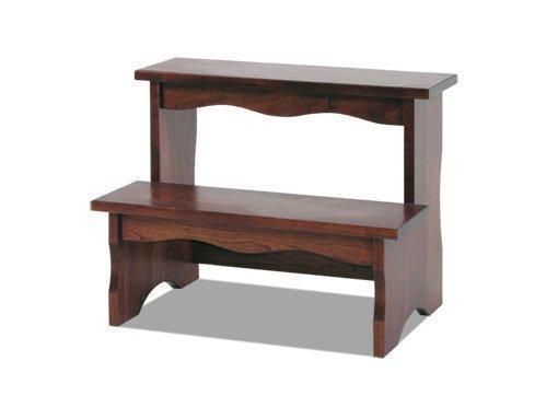 Amish Hardwood Bed Step