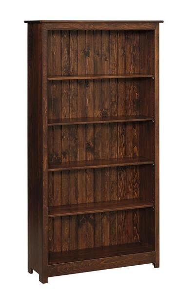 Amish Pine Wood 6' Book Case