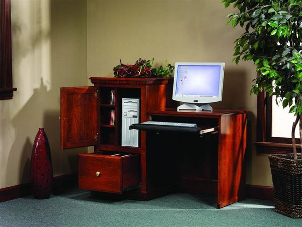 Amish Hi Lo Computer Desk