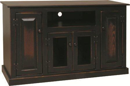Amish Pine Wood Flat Screen TV Stand 50""