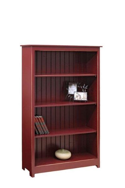 Amish Pine Wood 5' Bookcase