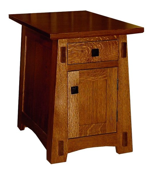 Amish Living Room Arts & Crafts Small End Table