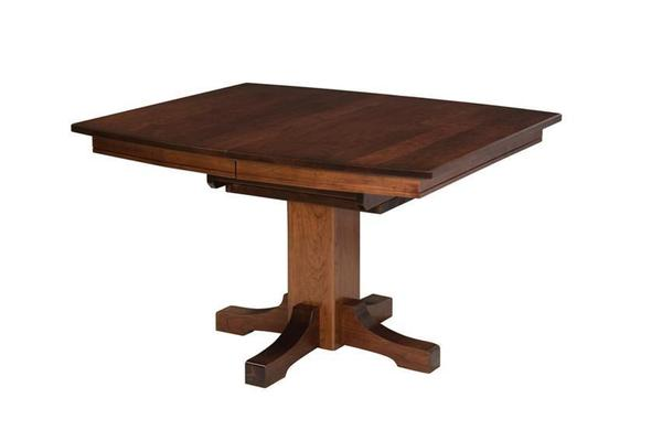 Frederick Mission Pedestal Table by Keystone