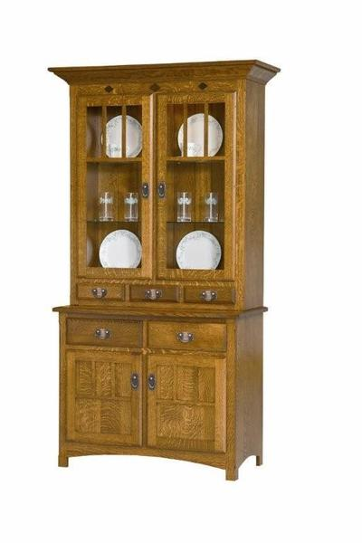 Amish Royal Mission China Cabinet