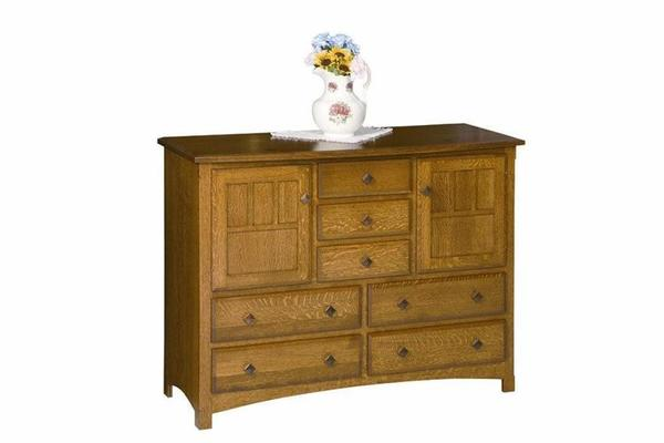 Amish Royal Mission 7-Drawer Server