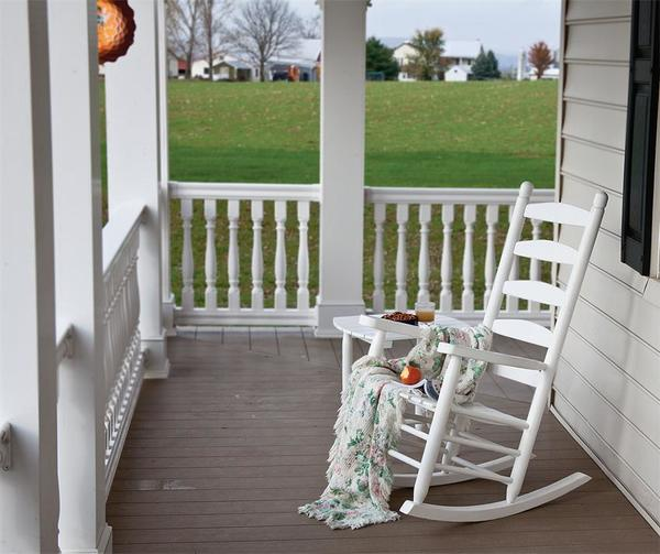 Stupendous Amish Outdoor Poly Porch Rocking Chair Ibusinesslaw Wood Chair Design Ideas Ibusinesslaworg