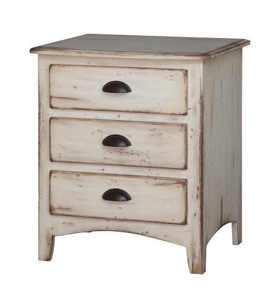Amish Concord Three-Drawer Night Stand