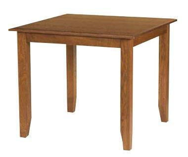 Amish American Mission Counter Height Dining Table