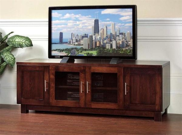 Amish Urban Flat Screen TV Stand