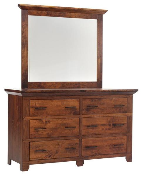 "Amish Redmond Wellington 66"" Dresser"
