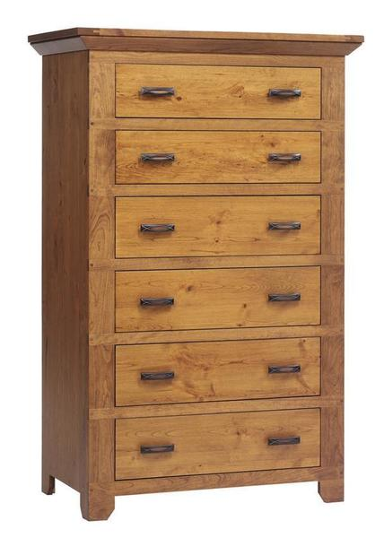 Amish Redmond Wellington Chest of Drawers