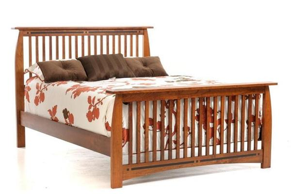 Amish Vineyard Slat Bed