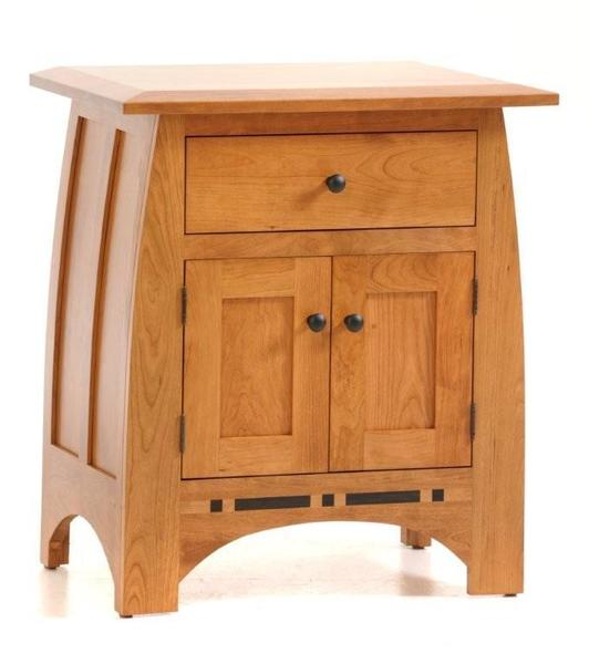 Amish Vineyard Night Stand with 2 Doors
