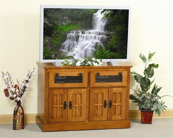 Amish Mission HDTV Square TV Stand