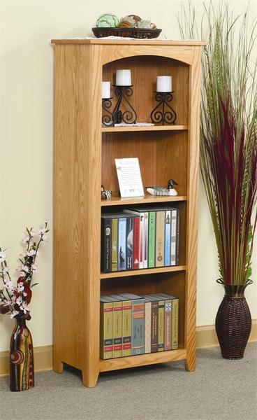 Amish Small Economy Bookcase - Quick Ship