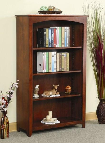 Amish Large Economy Bookcase - Quick Ship