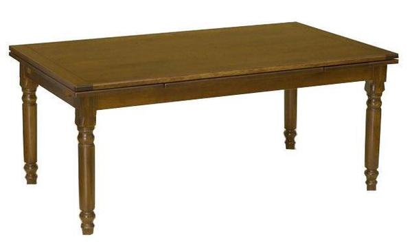 Amish Provence French Country Extendable Wood Dining Table