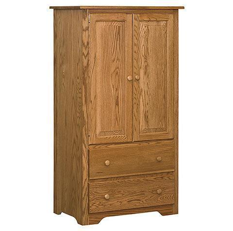 Amish English Shaker Armoire