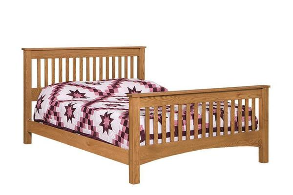 Amish Picket Slat Shaker Bed