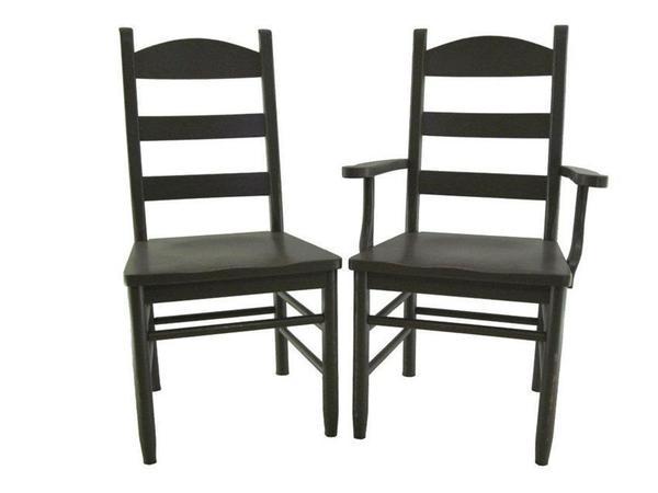 Amish Sheffield Ladderback Dining Chair