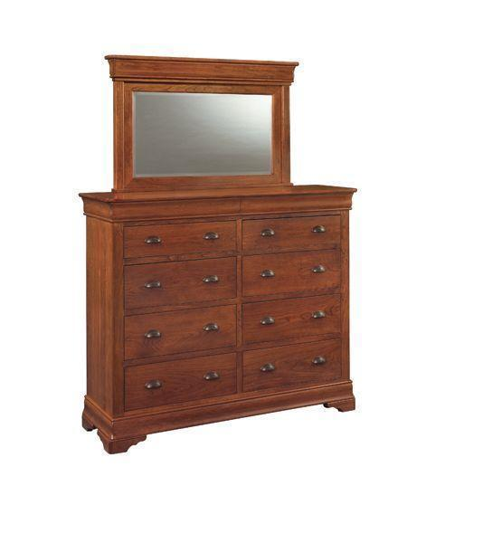 Versailles Double Dressing Chest of Drawers by Keystone