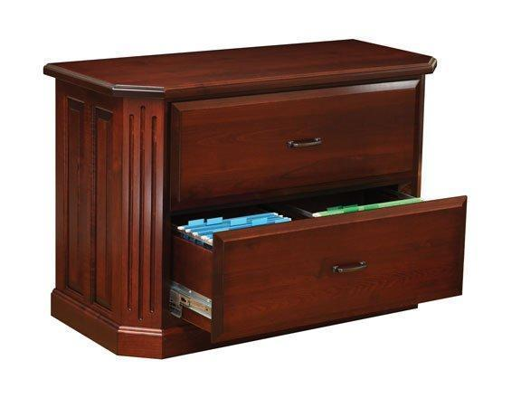 Amish Fifth Avenue Lateral File Cabinet
