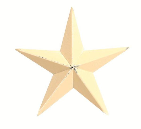 "Amish 16"" Painted Barn Star"