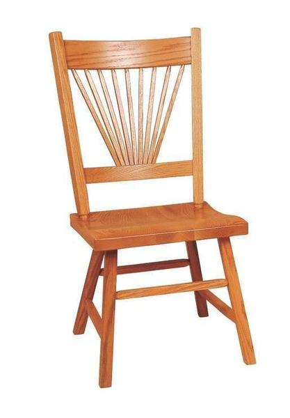 Amish Fantail Mission Dining Room Chair
