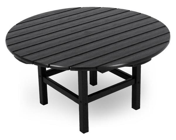 "POLYWOOD® Round 38"" Outdoor Conversation Table"