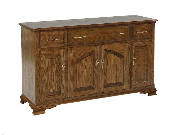 Amish Queen Anne Buffet - 56""