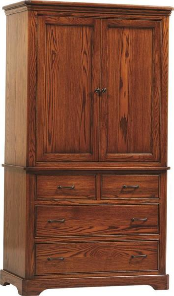 Amish Johnson Armoire