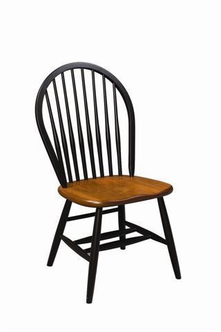 Amish Bow-Back Windsor Chair