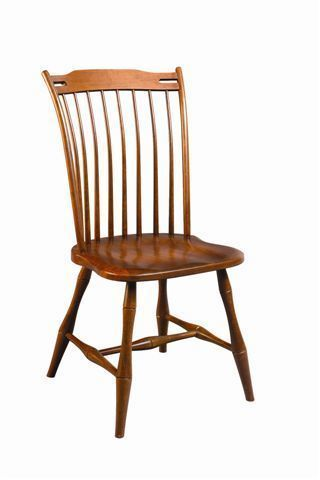 Amish Thumb Back Windsor Dining Room Chair