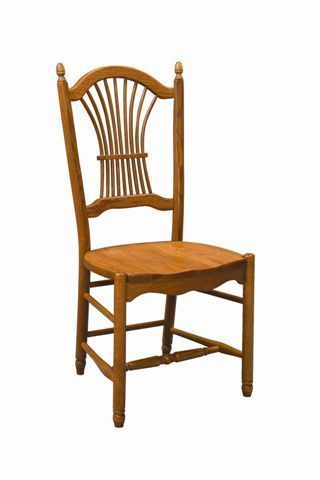 Amish Hampstead Sheaf Back Dining Chair
