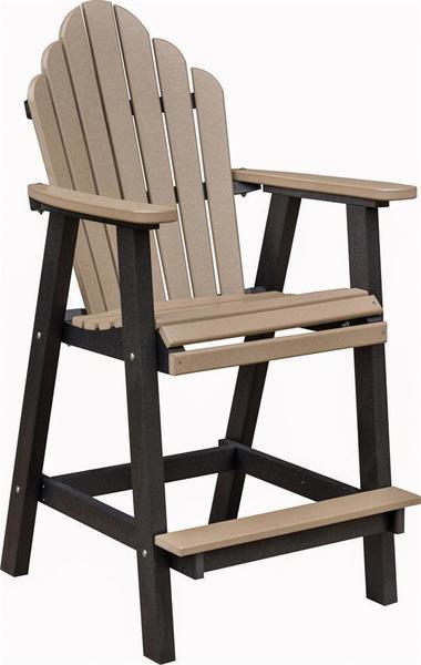 Berlin Gardens Cozi-Back Bar Chair