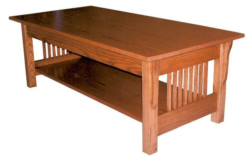 Mission Style Coffee Table For Sale