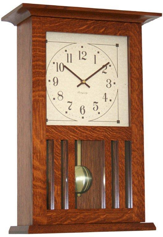 Mission Wall Clock From Dutchcrafters Amish Furniture