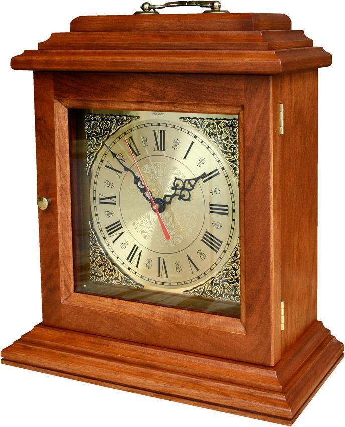 Amish Antique Mantel Clock From Dutchcrafters