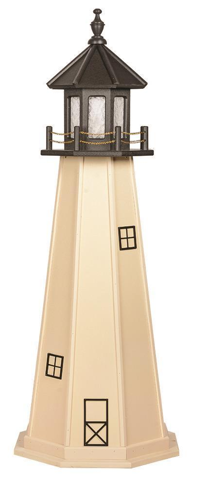 Poly Amish Garden Lighthouse By Dutchcrafters Furniture Store