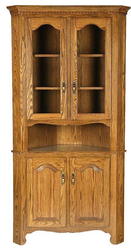 Corner Buffet And Hutch Set From Dutchcrafters Amish Furniture