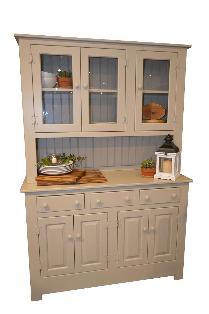 Pine Wood Farmhouse Hutch From Dutchcrafters Amish Furniture
