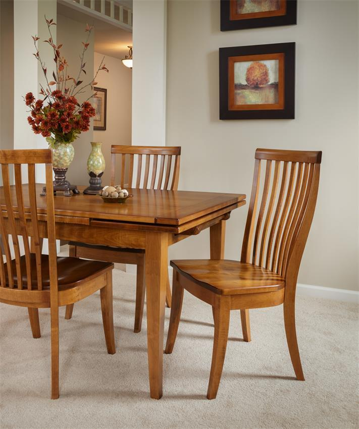 Grainvalley Drawleaf Extension Dining Table From Dutchcrafters Amish